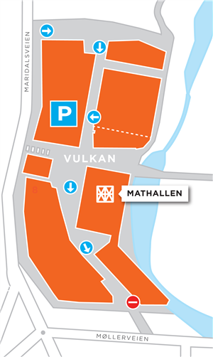 alexander kiellands plass kart Directions   Mathallen   Vulkan Oslo   bike   public transport  alexander kiellands plass kart