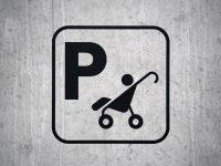 Bilde av barnevognparkering