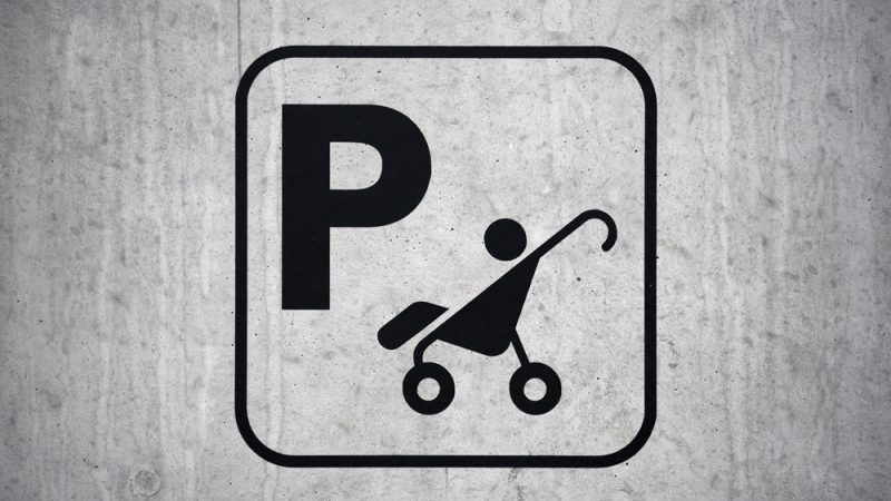 Gratis barnevognparkering hver helg