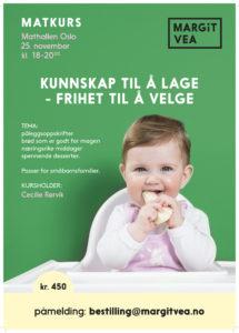 Plakat barnekurs 25