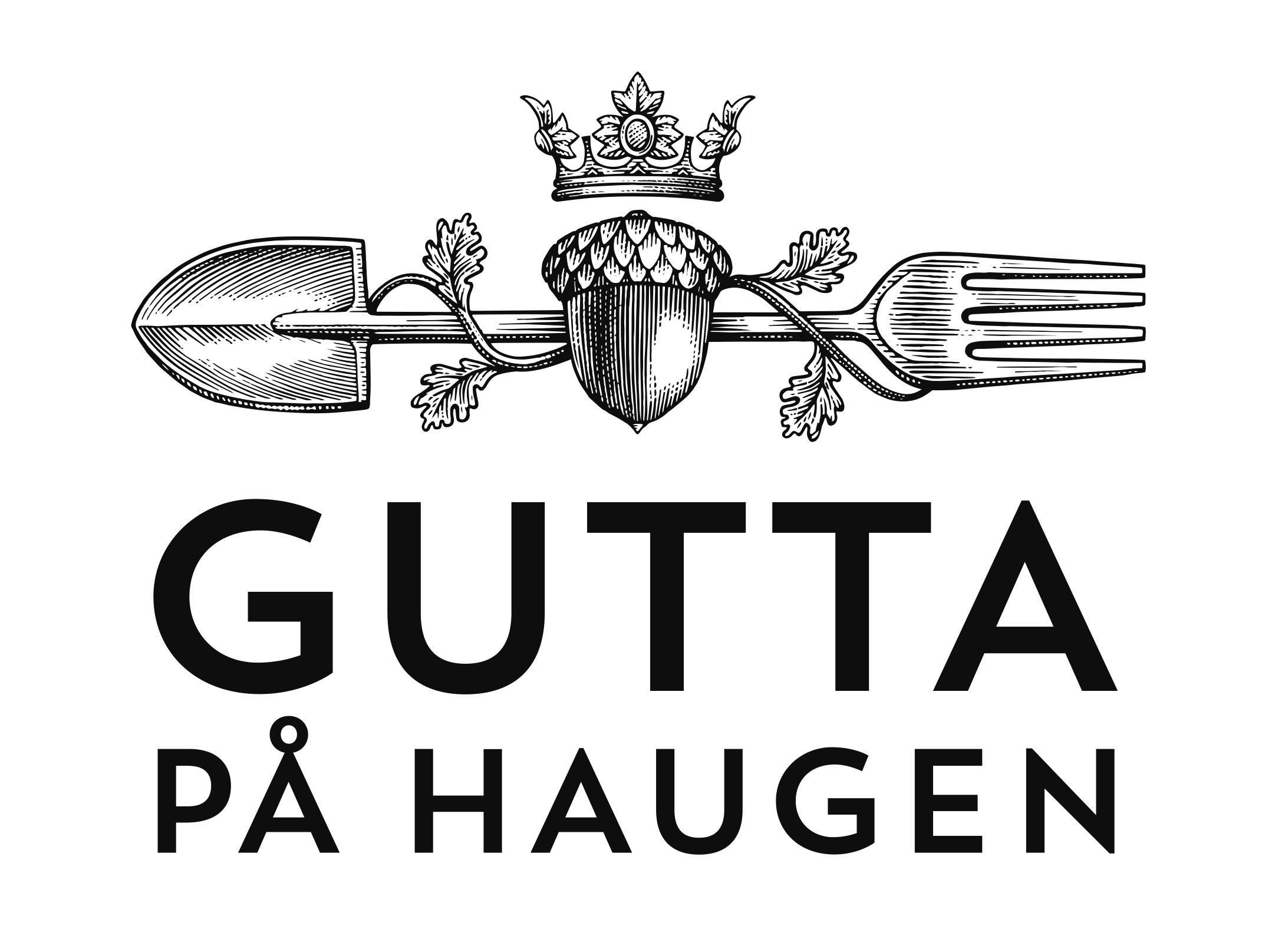 Gutta paa Haugen_logo_versjon_B_gray