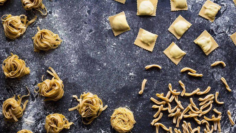 Dermed pasta!