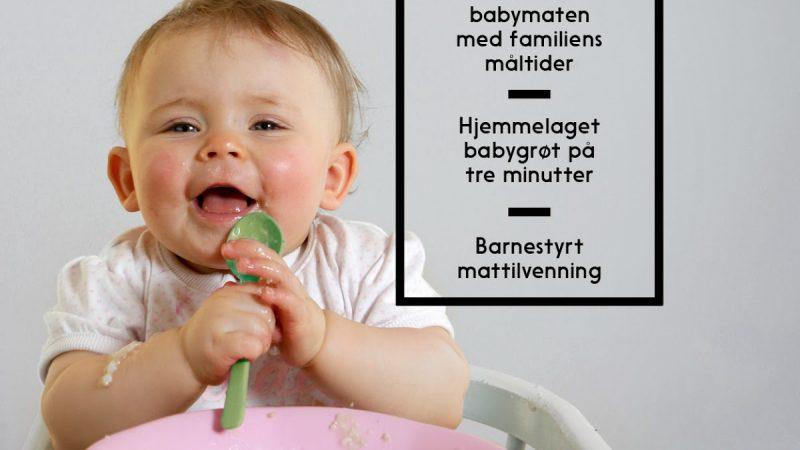 Matkurs for små og litt større barn