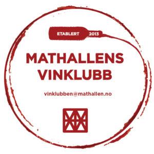 Logoen til Mathallens vinklubb