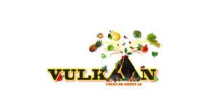Bilde av logoen til Vulkan frukt og grønt