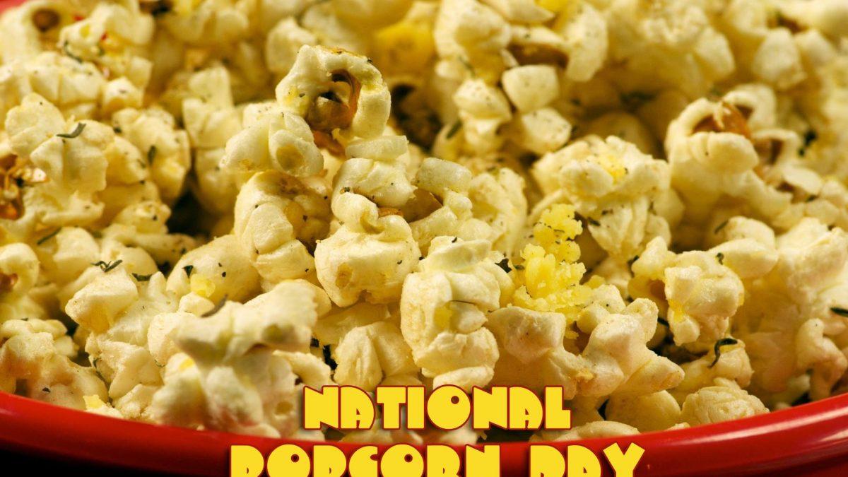 Popcorn Day @ Smelteverket