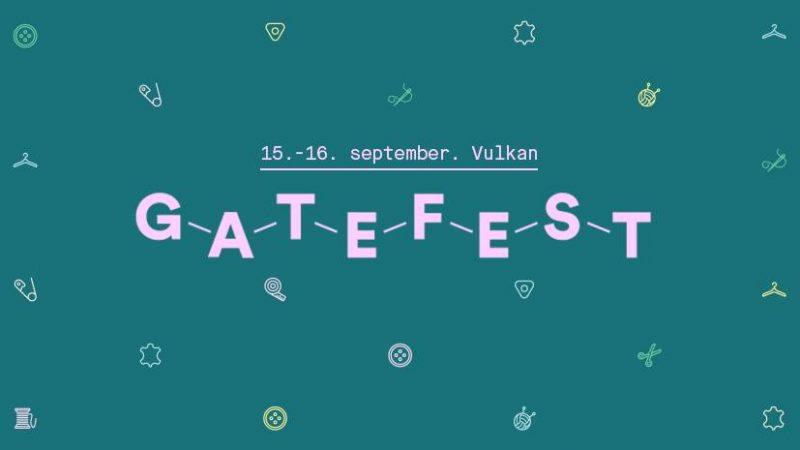 Gatefest med Tekstilaksjonen