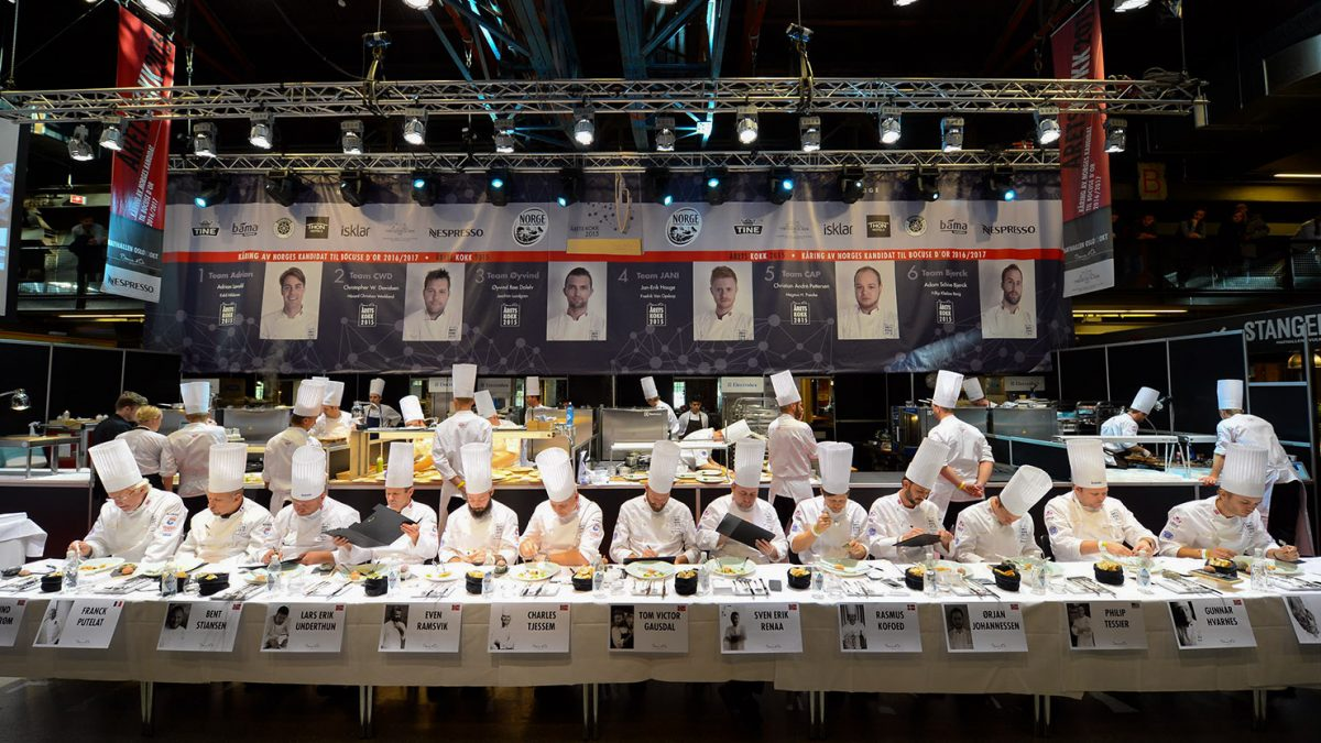 Dommerbordet under Årets kokk 2015