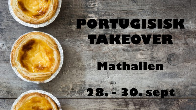 Portugal tar igjen over Mathallen
