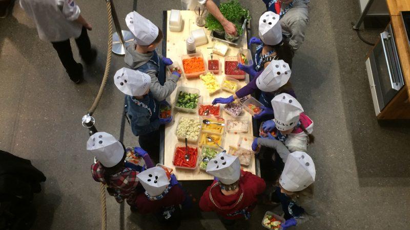 Matkurs for barn i vinterferien