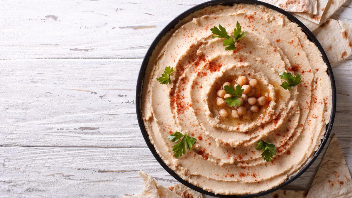 Vegetarisk afterwork // World Class Hummus