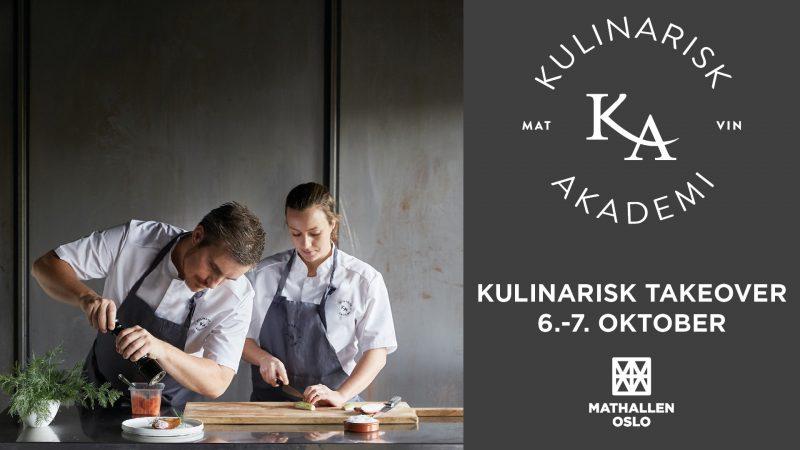 Kulinarisk Akademi feirer 10-årsjubileum med «takeover» i Mathallen