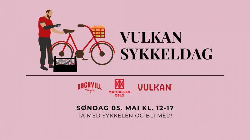 Vulkan Sykkeldag – søndag 5. mai