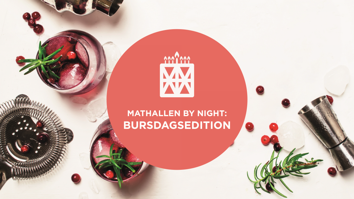 Mathallen by night: Bursdagsedition!