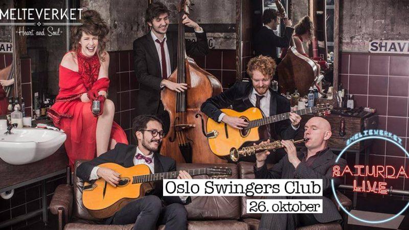 Saturday Live: Oslo Swingers Club!