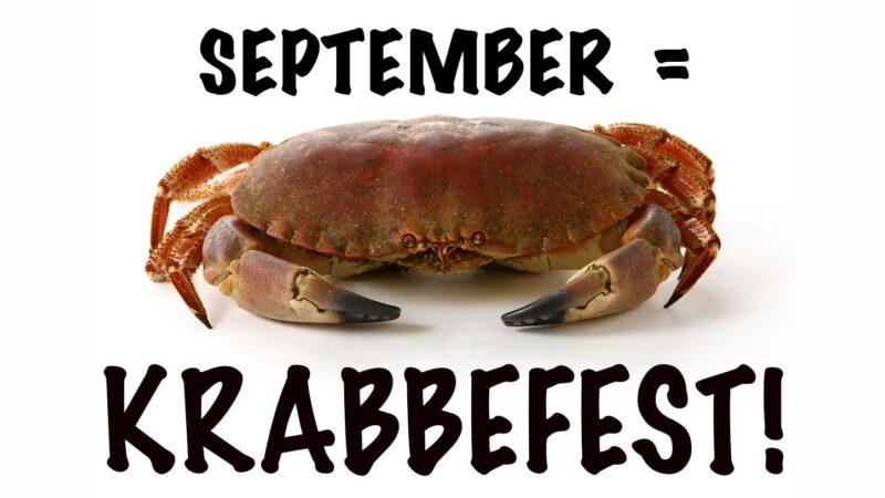 Krabbefest september