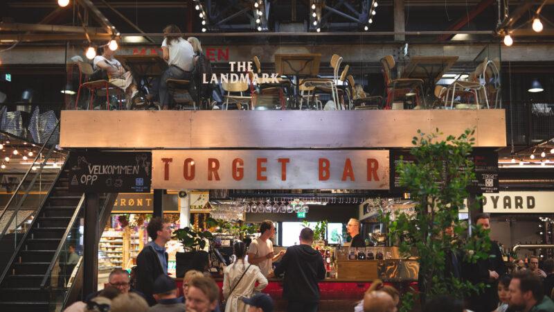 Torget Bar i Mathallen. Foto: Fredrikke Wiheden