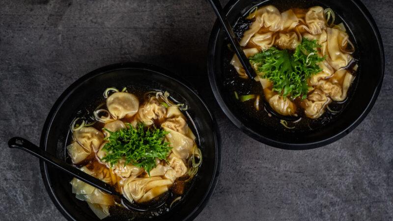 Hjemmelaget wonton-suppe med Hongs Bao Bao