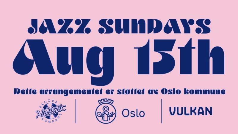 Jazz Sunday August 15th
